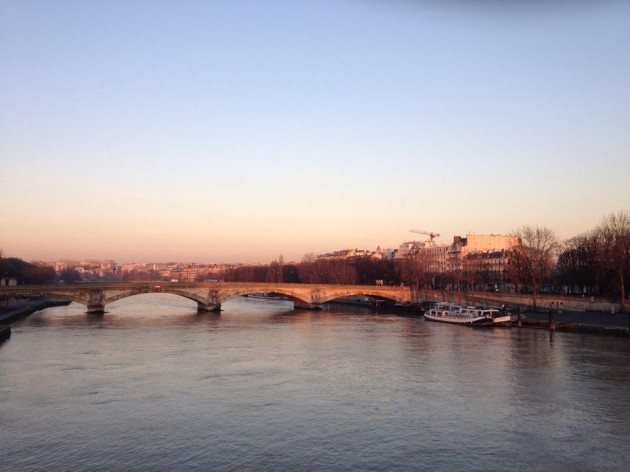 The Seine at Sunrise